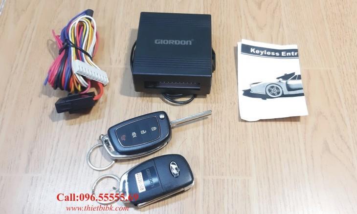Bộ điều khiển khóa cửa ô tô Giordon 6216 dùng cho xe con