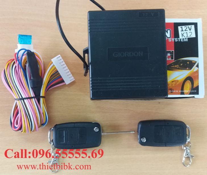 Bộ điều khiển khóa cửa ô tô Giordon K12 12v 10 dây dùng cho xe con
