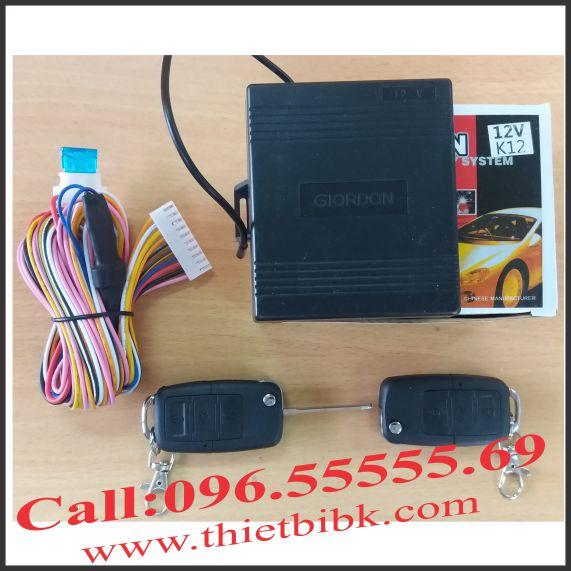 Bộ điều khiển khóa cửa ô tô Giordon K12 12v 10 dây