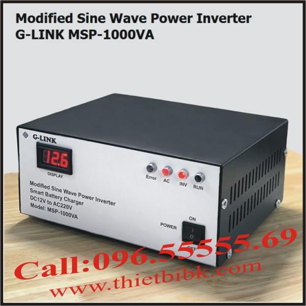 Máy kích điện và sạc ắc quy tự động G-LINK MSP-1000VA