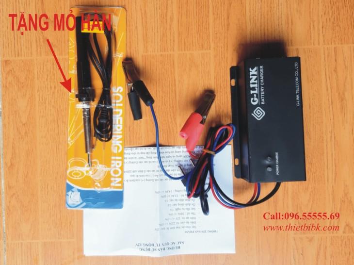 Mua sạc ắc quy tự động Glink 12v 200Ah tặng mỏ hàn thiếc