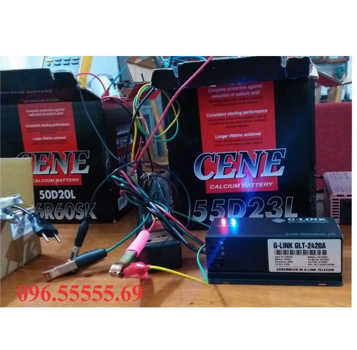 Mua sạc ắc quy tự động Glink 24v 200Ah tặng mỏ hàn thiếc